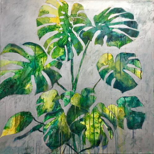 Fensterblatt 70 x 70 cm
