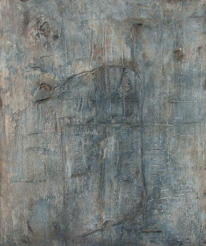 Zeichen der Zeit V - 120 x 100 cm, 2018