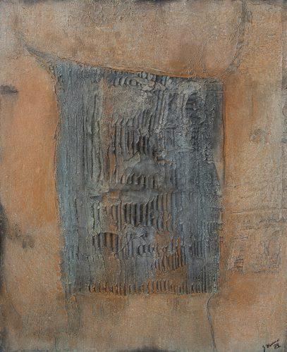 Zwischenräume Y_2019, 120 x 100 cm